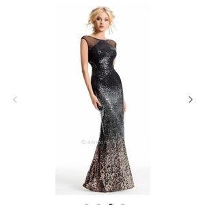 Camille de Vie OMBRE sequins Dress
